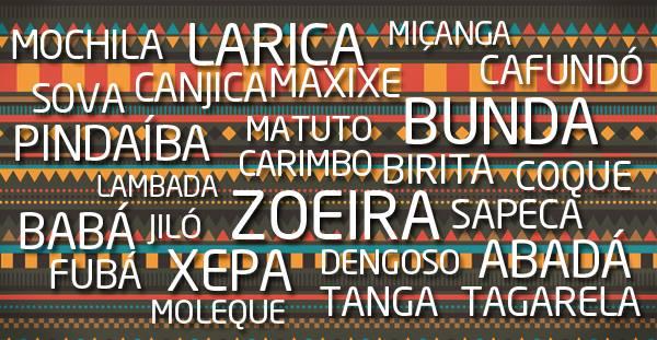 Palavras de origem africana: A