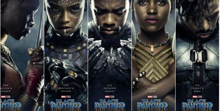 pantera negra personagens