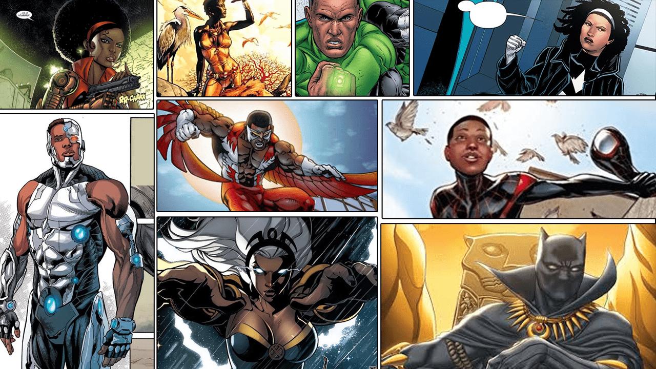 Quantos super-heróis negros você conhece?