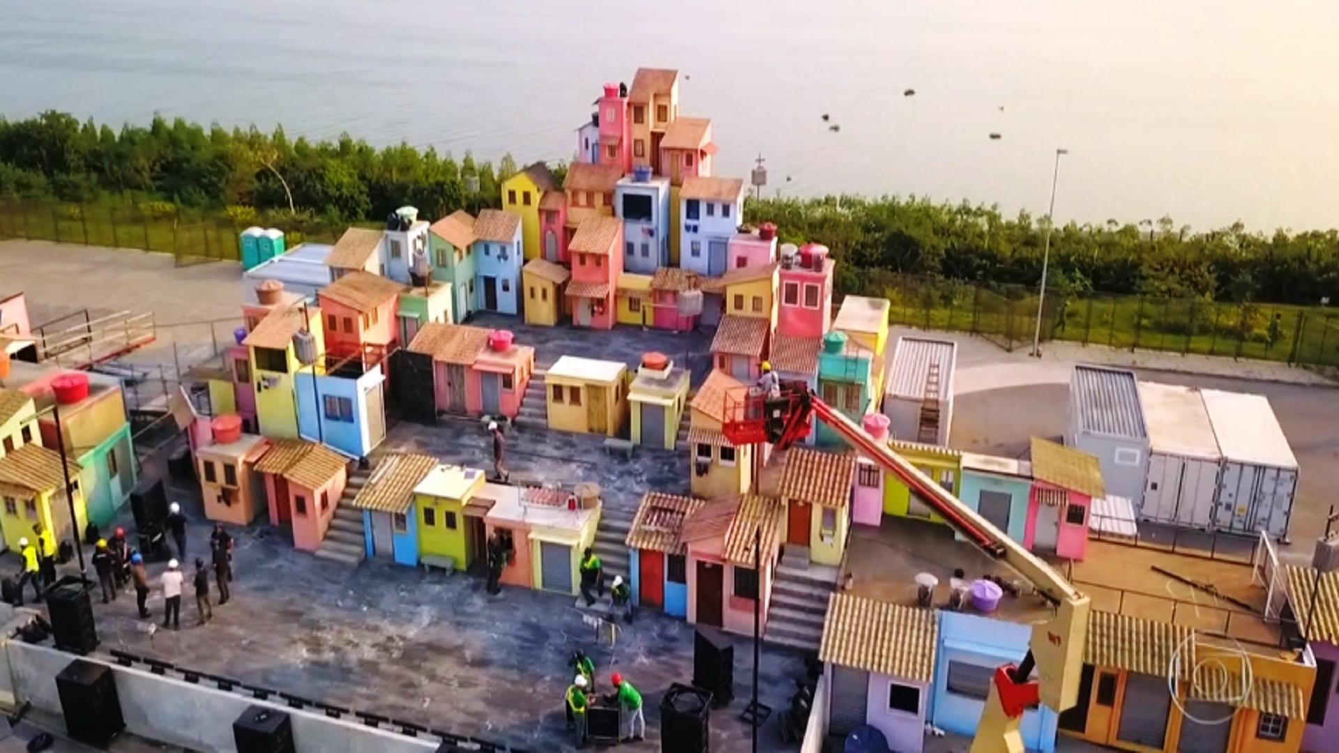 espaço favela