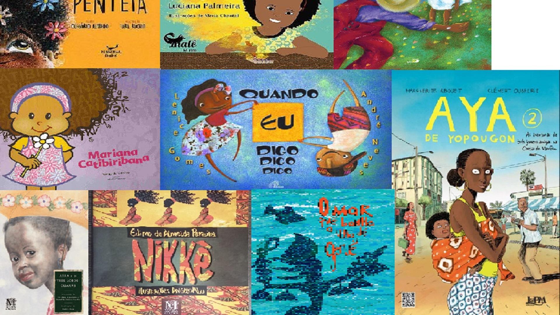 Projeto lista 100 livros infantis com meninas negras protagonistas