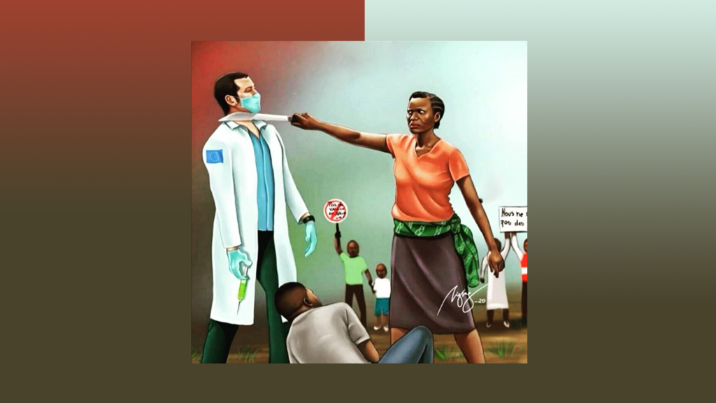 nao somos cobaias teste vacina coronavirus na africa gera revolta site