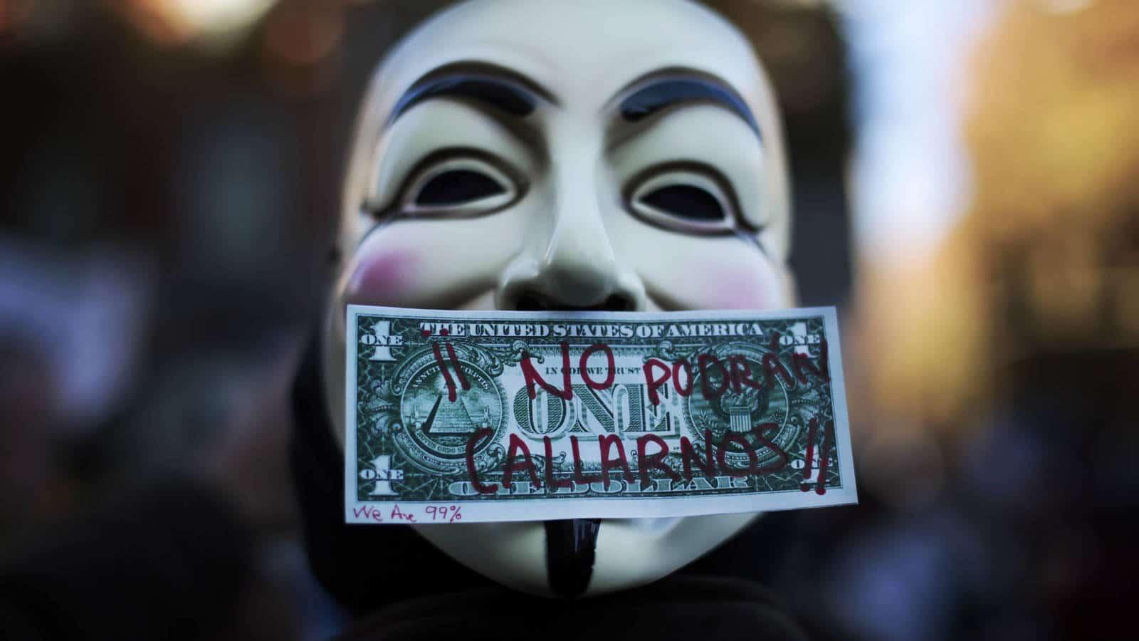 Grupo hacktivista Anonymous promete justiça ao caso George Floyd