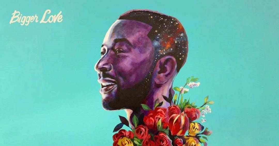 """""""Bigger Love"""" (2020) é o sexto álbum do cantor norte-americano John Legend. Foto: Divulgação."""