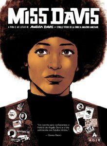 Capa da HQ Miss Davis