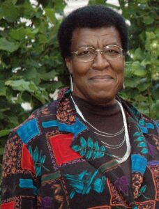 A autora Octavia E.Butler
