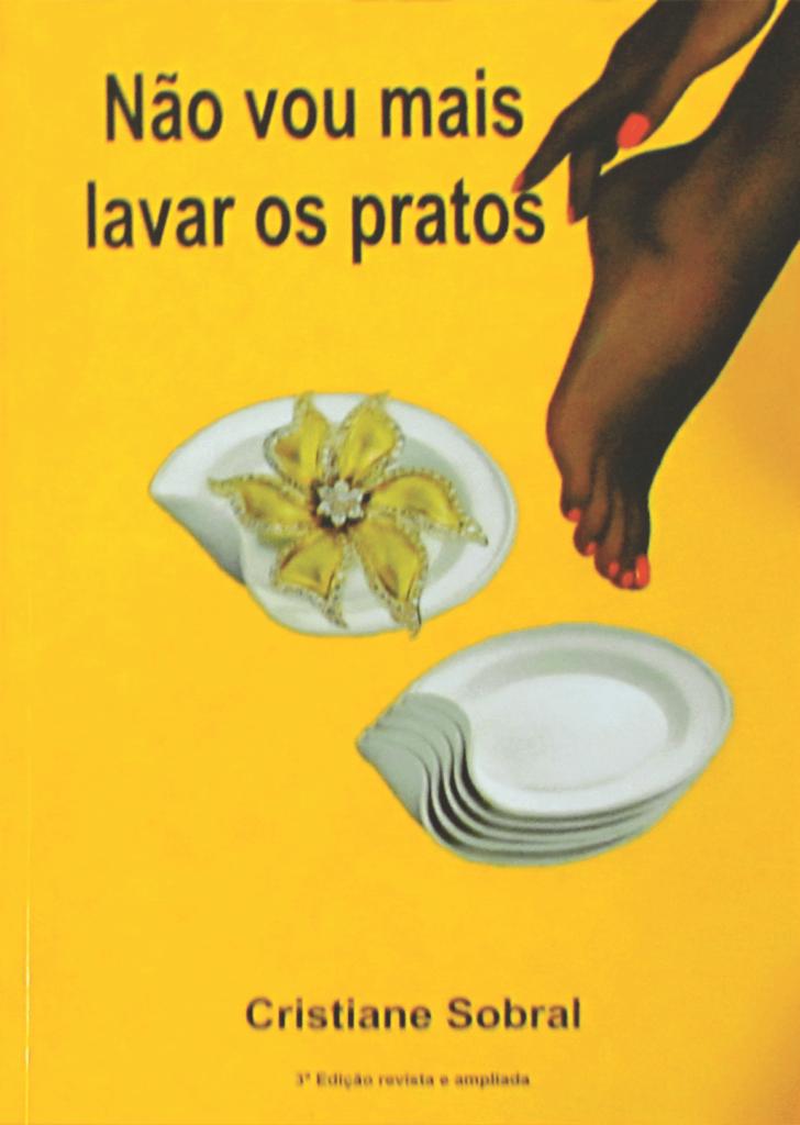 Capa do livro Não vai mais lavar os pratos