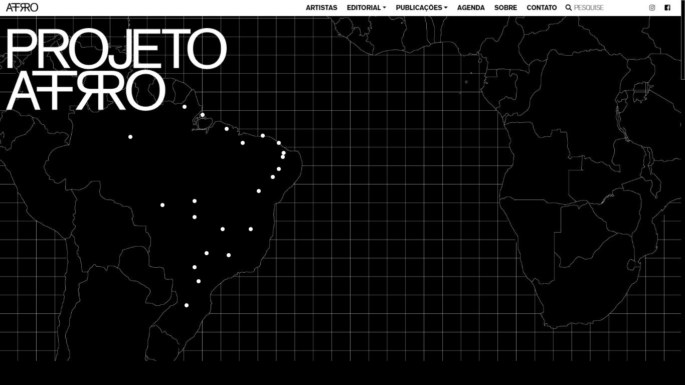 Plataforma de difusão de artistas negros, Projeto Afro será tema de live do Porto Iracema das Artes