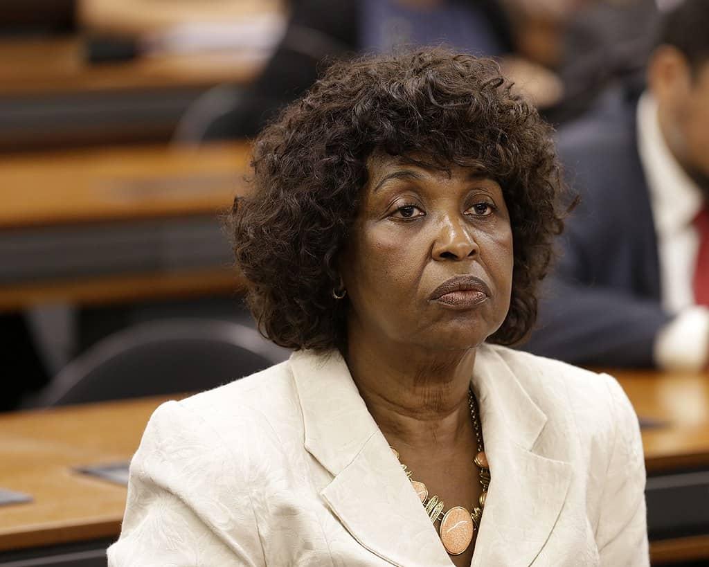 Deputada Benedita da Silva na Câmara