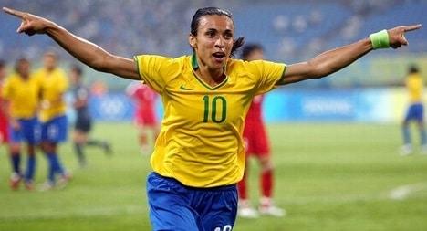 Marta terá estátua no Museu do Futebol