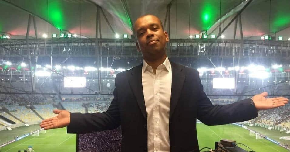 Luiz Alano é primeiro negro a narrar a Libertadores em TV aberta no Brasil