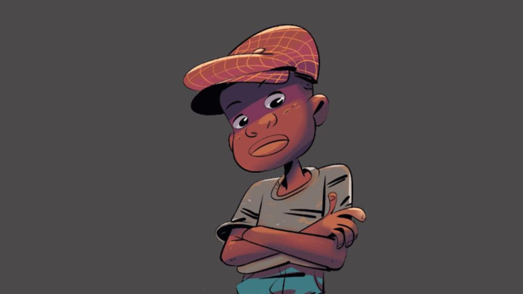 Personagem Jeremias, da turma da Mônica