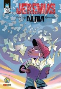 Capa da graphic novel Jeremias-Alma