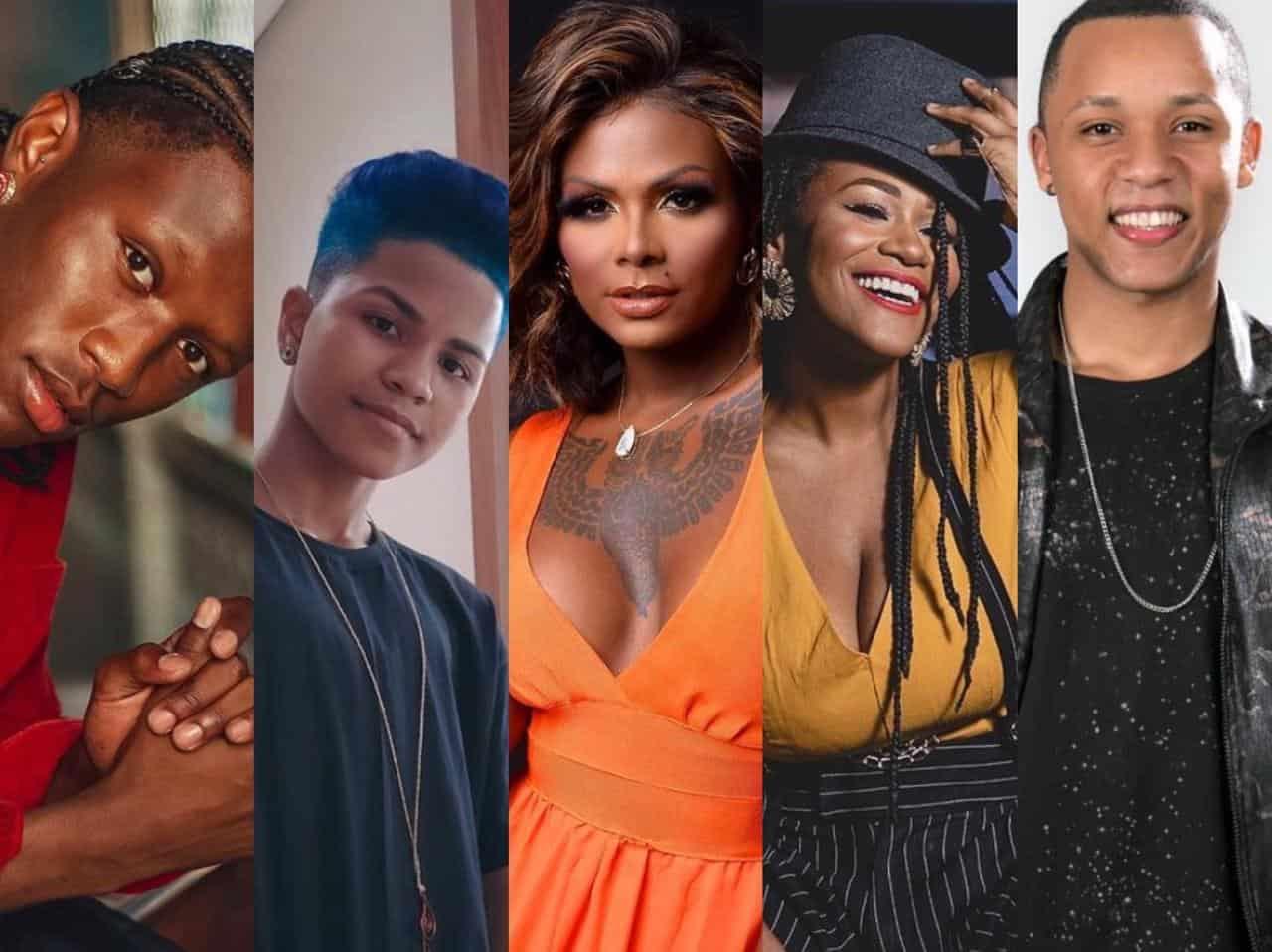 Conheça os semifinalistas negros do The Voice Brasil