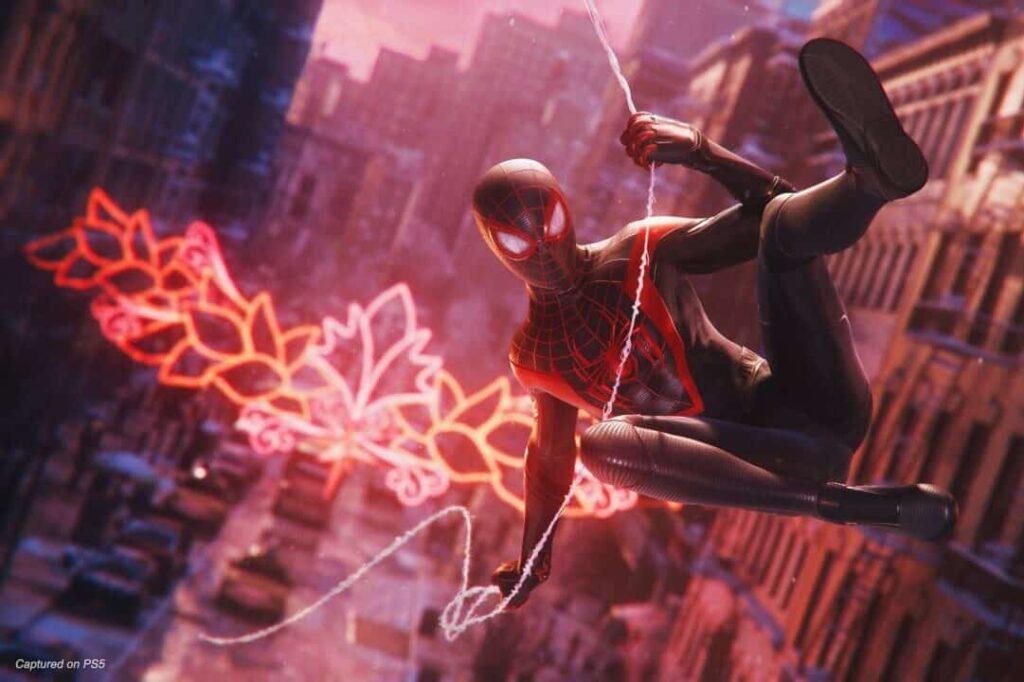 Miles Morales no jogo Spider Man: Miles Morales