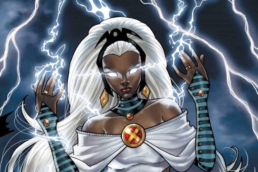 Tempestade em quadrinho dos X-Men