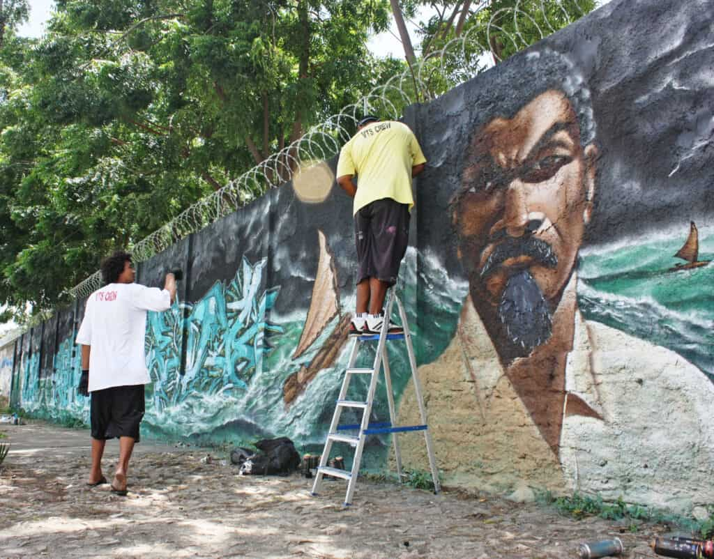 Grafiteiros de Fortaleza lançam e-book com afirmação de identidade negra