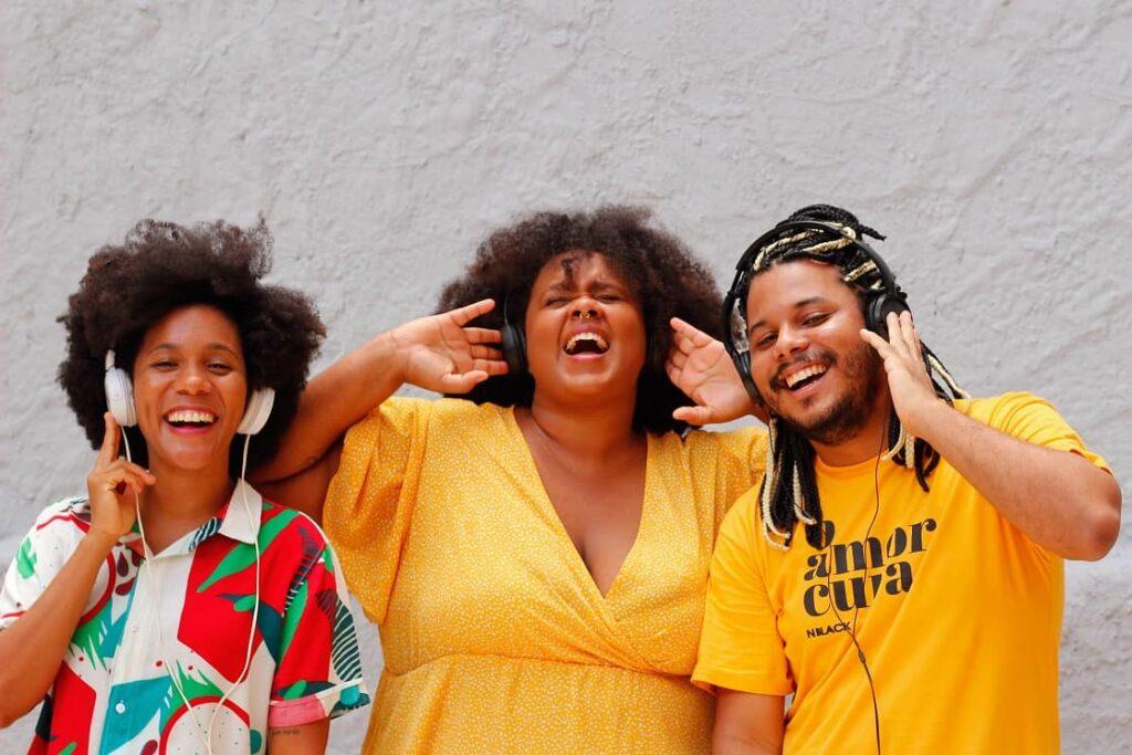 Equipe de apresentadores Do Nada 2 Foto por Mariana de Paula