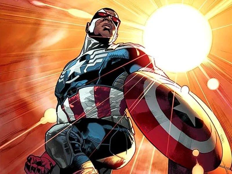 Sam agora como Capitão América