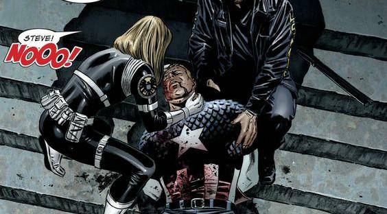 Captain America Civil War Steve Rogers sniper ki