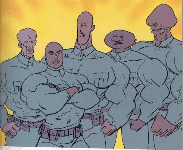 """Batalhão de super soldados negros em """"Verdade- vermelho, branco e negro"""""""