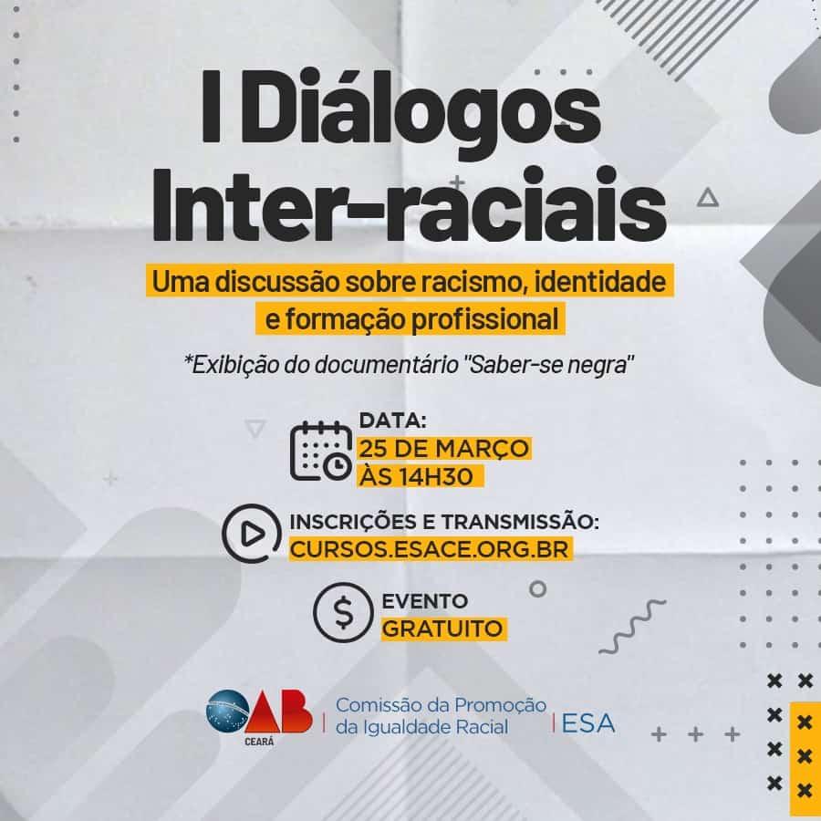 OAB promove debate sobre racismo, identidade e formação profissional