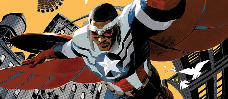 Capa de Capitão América: Sam Wilson