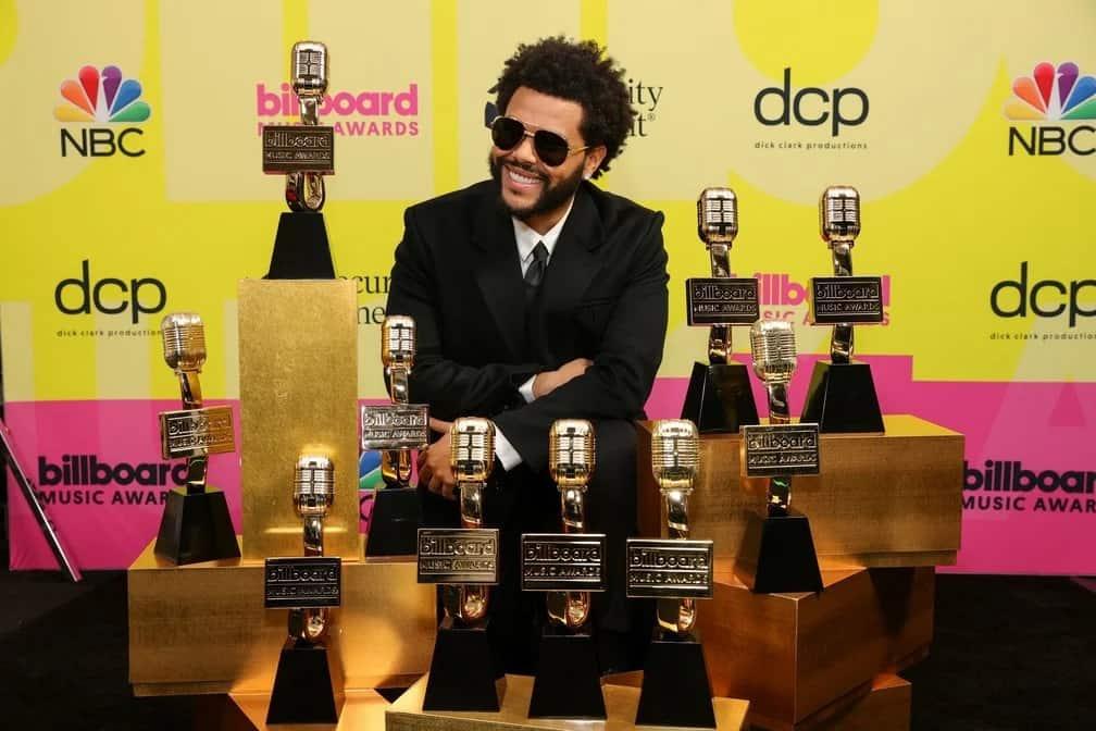 The Weeknd ganha dez categorias da Billboard Music Awards 2021