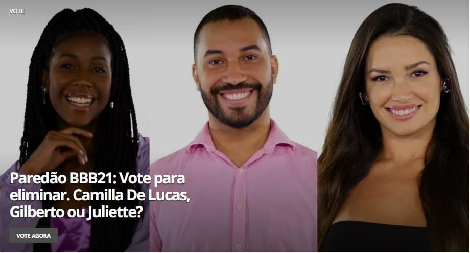 Por que o paredão entre Gil, Juliette e Camilla é, sim, uma questão racial