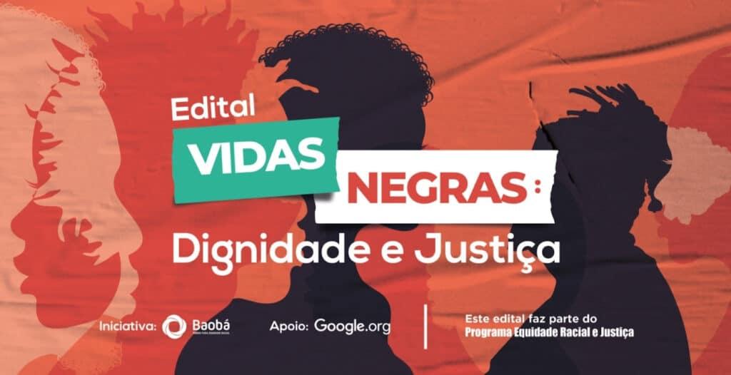 Edital destina R$ 1 milhão a ONGs de equidade racial