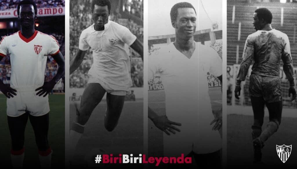 Conheça Biri Biri, lenda gambiana e primeiro jogador negro do Sevilla FC