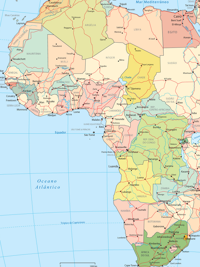 O berço da humanidade fica na África