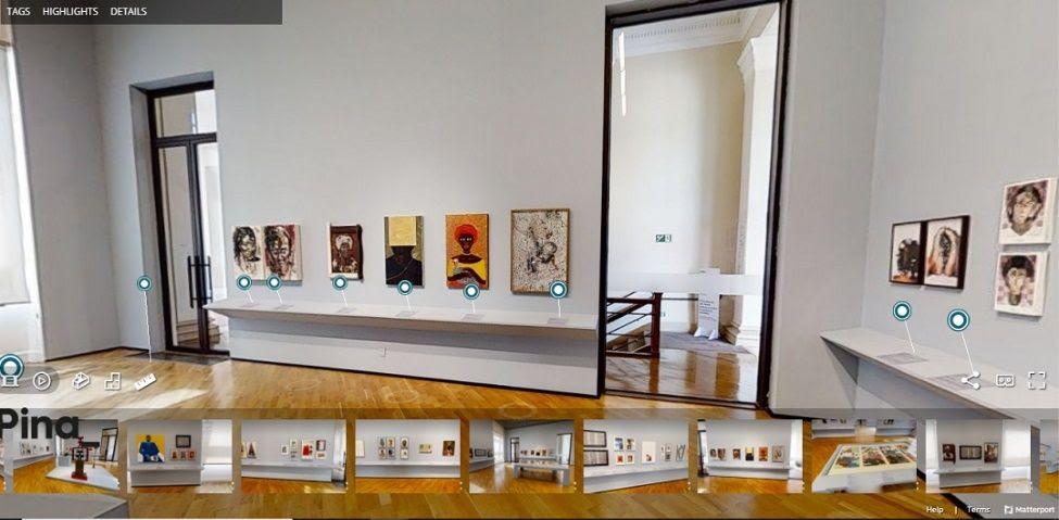 Pinacoteca de São Paulo apresenta tour virtual da exposição Enciclopédia Negra